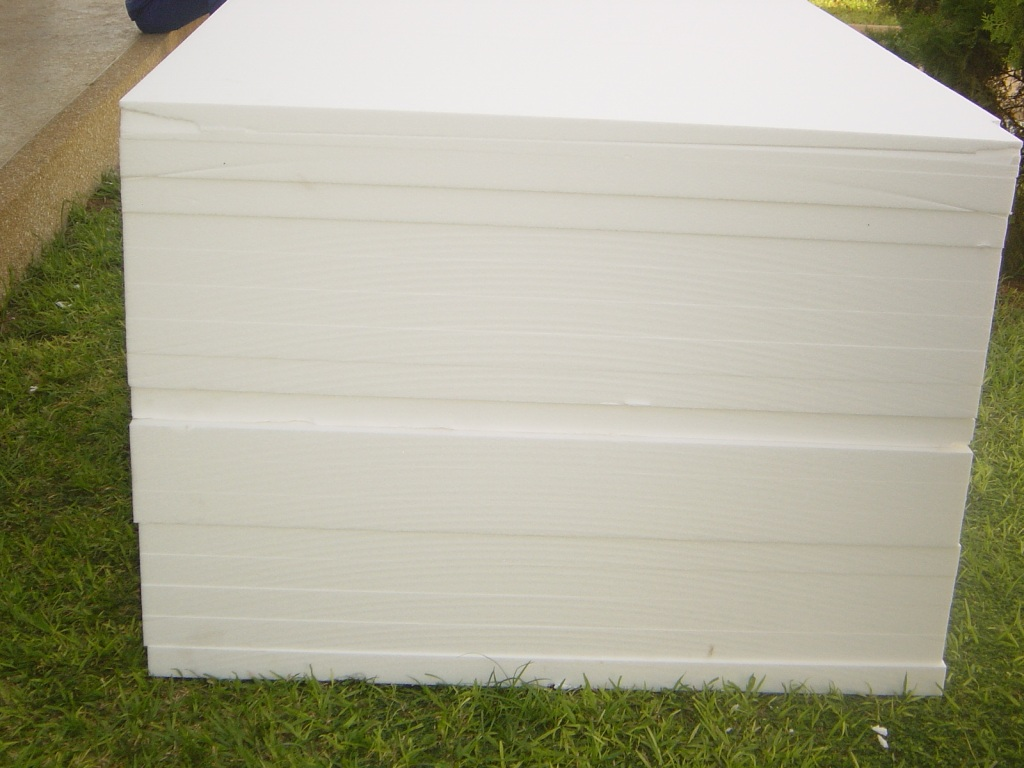 Eps foam polystyrene sheets james building supplies for Styrofoam forms